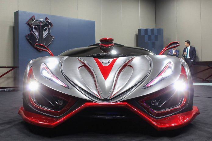Inferno supercar front view