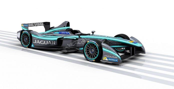 Jaguar Formula E racecar 2016