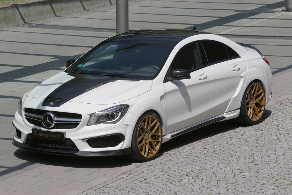 Mercedes-Benz CLA 45 AMG Widebody