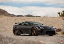Lexus LFA with Vossen Wheels