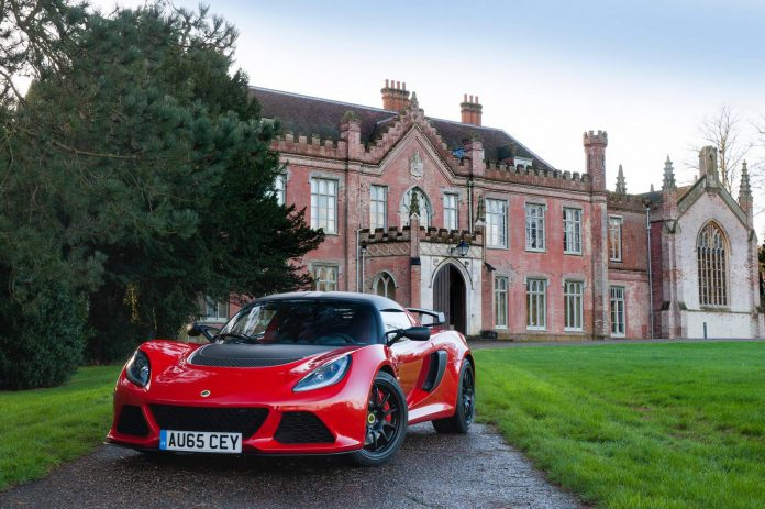 Red Lotus Exige Sport 350