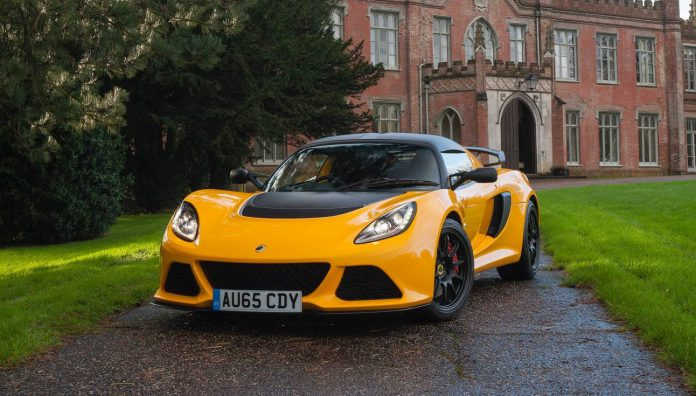Yellow Lotus Exige Sport 350