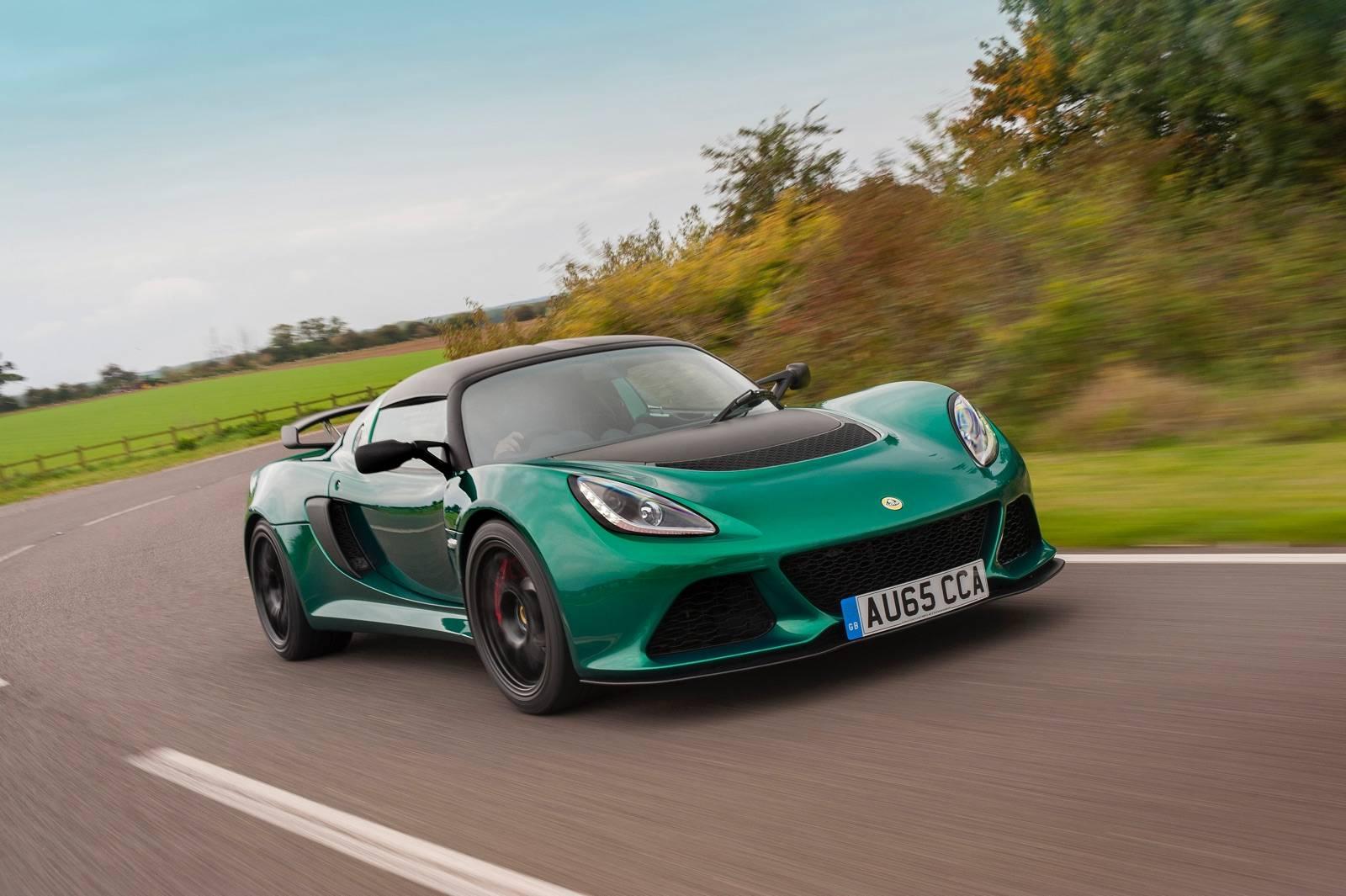Green Lotus Exige Sport 350