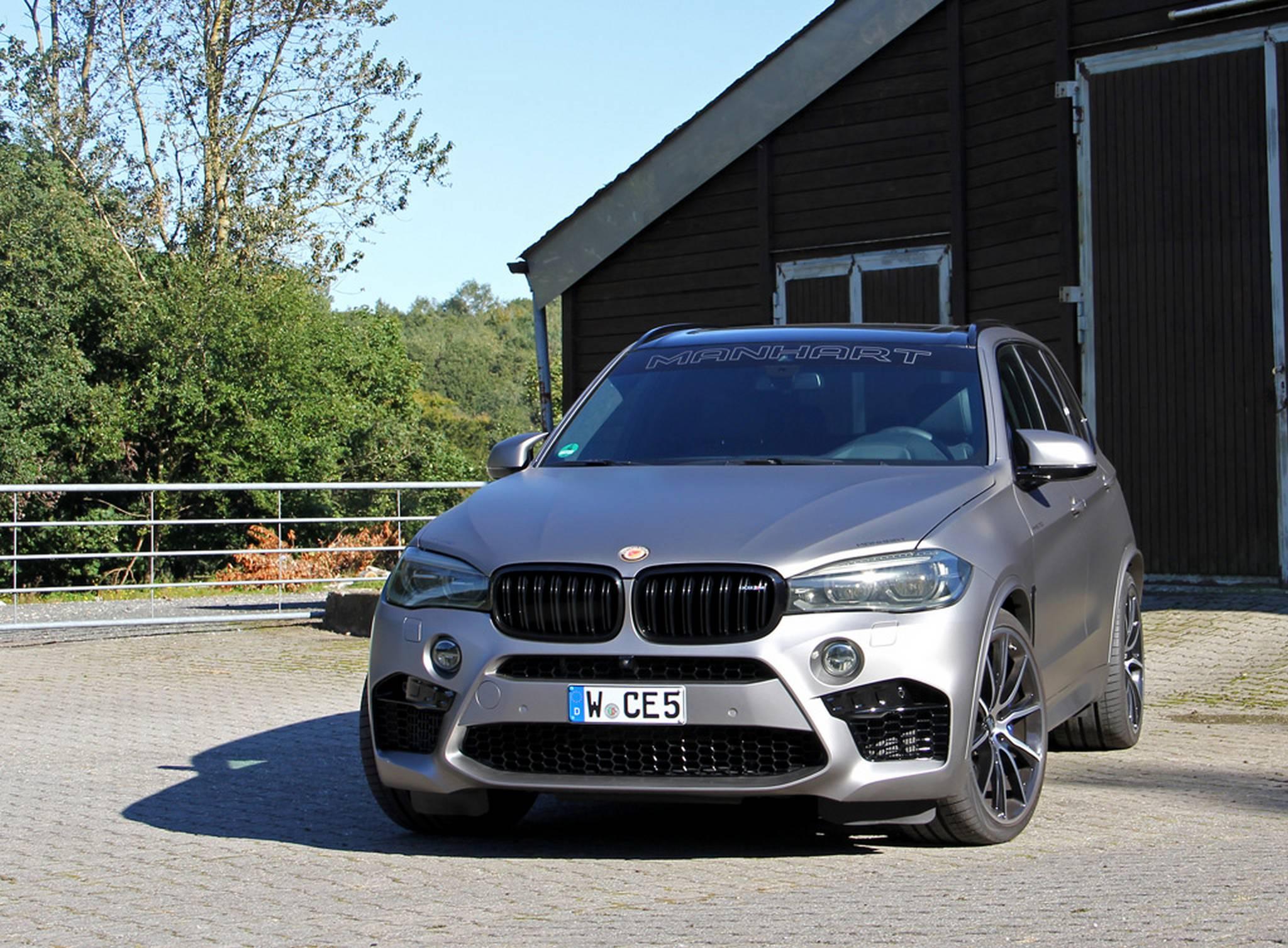 700hp BMW X5 M by Manhart