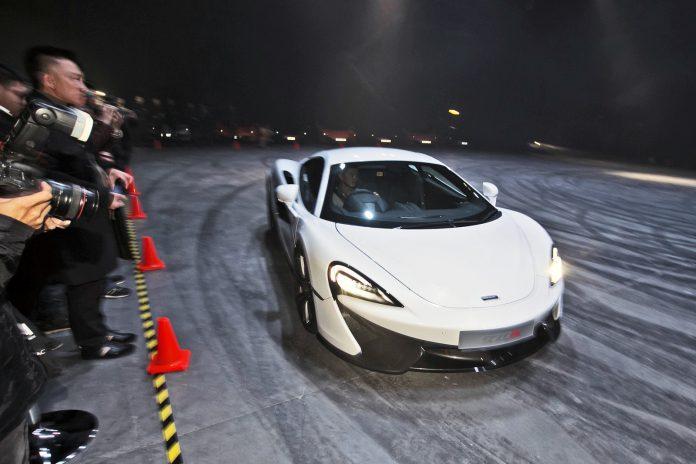 McLaren 570S Hong Kong