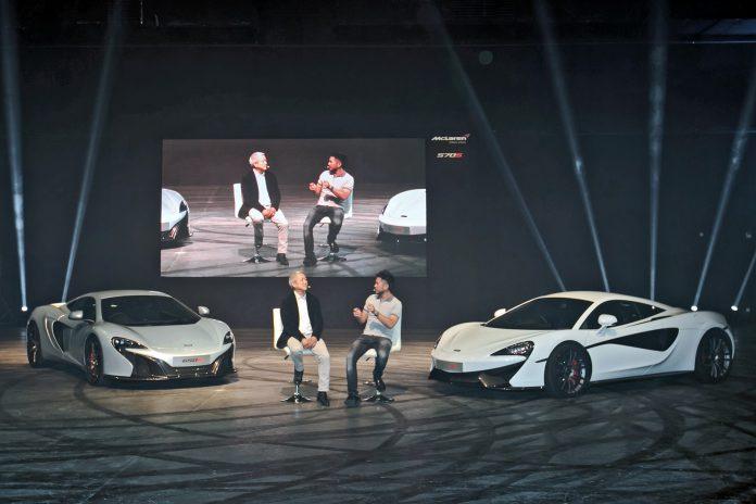 McLaren 570S launch in Hong Kong