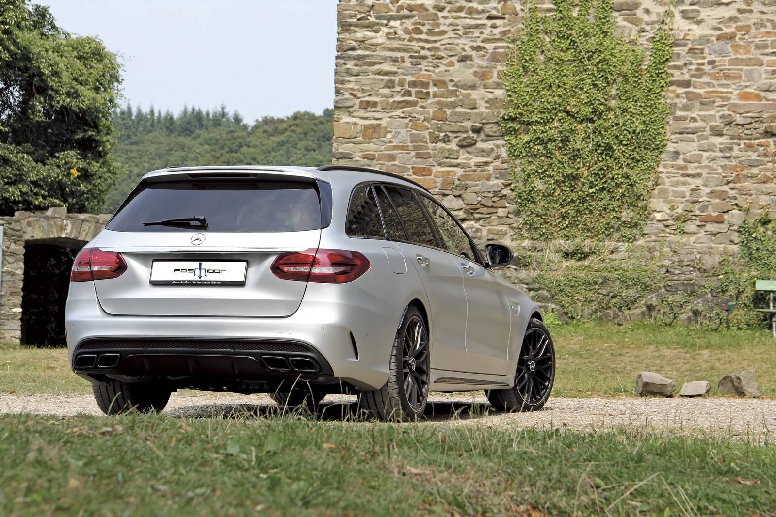 Official 700hp Mercedes Amg C63 Wagon By Posaidon Gtspirit
