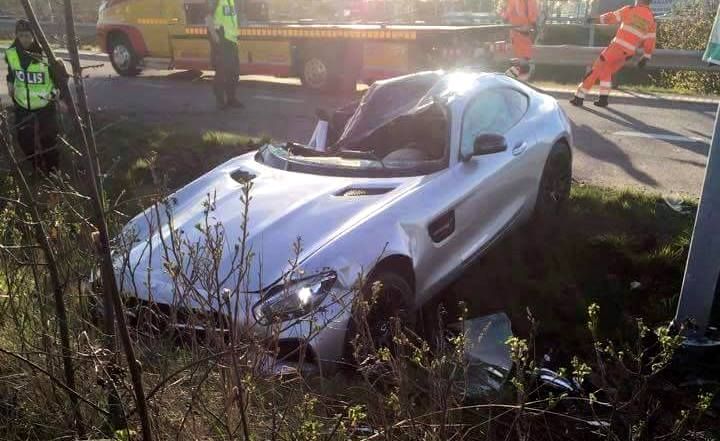 Wrecked Mercedes S For Sale