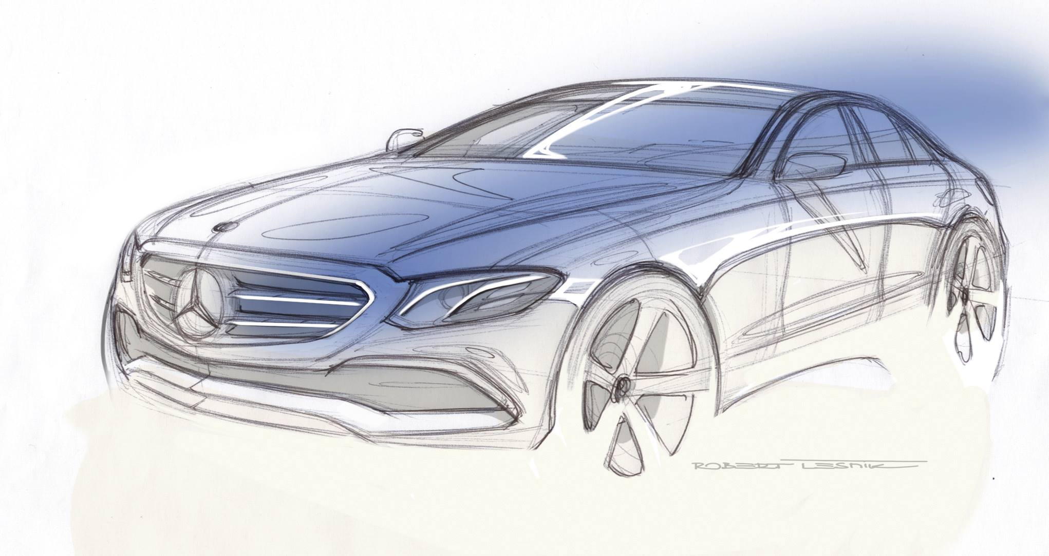 2017 Mercedes-Benz E-Class Exterior Design Revealed