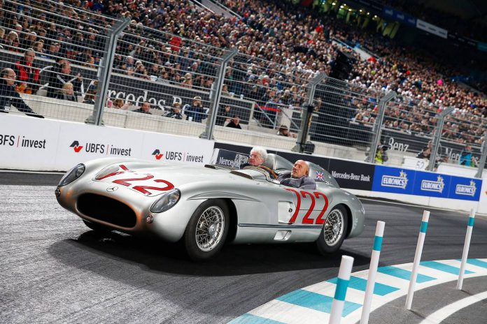 Stirling Moss Stars and Cars 2015