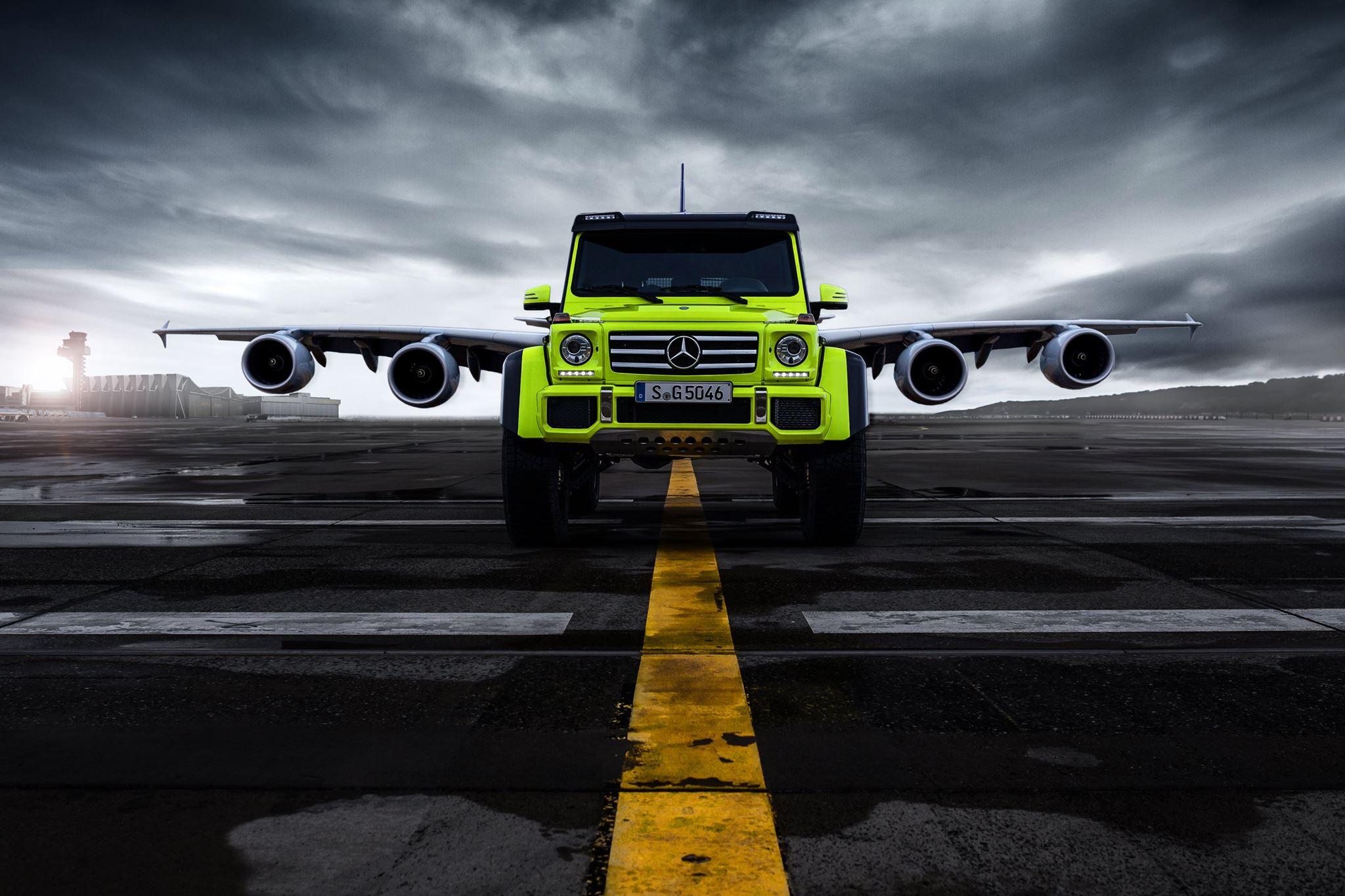 MercedesBenz G 500 4x4²