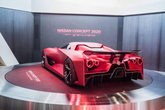 Nissan Vision GT 2020 Concept - Tokyo Motor Show