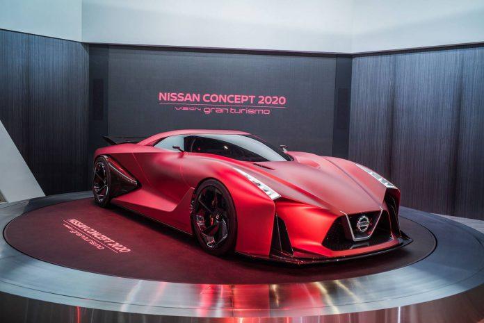Nissan Vision GT 2020 Concept