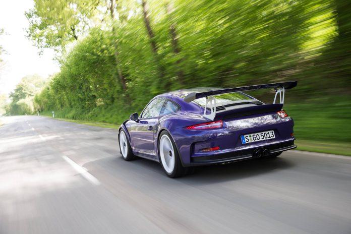 Ultraviolet Porsche 911 GT3 RS