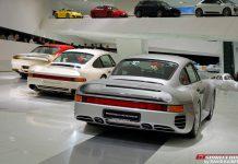 Porsche 959 exhibition