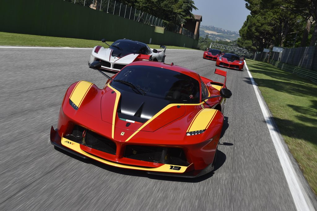 Red Ferrari FXX K