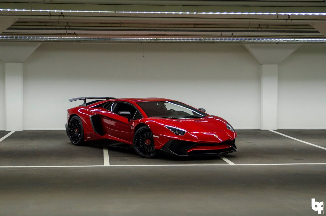 DJ Afrojack Lamborghini Aventador SV