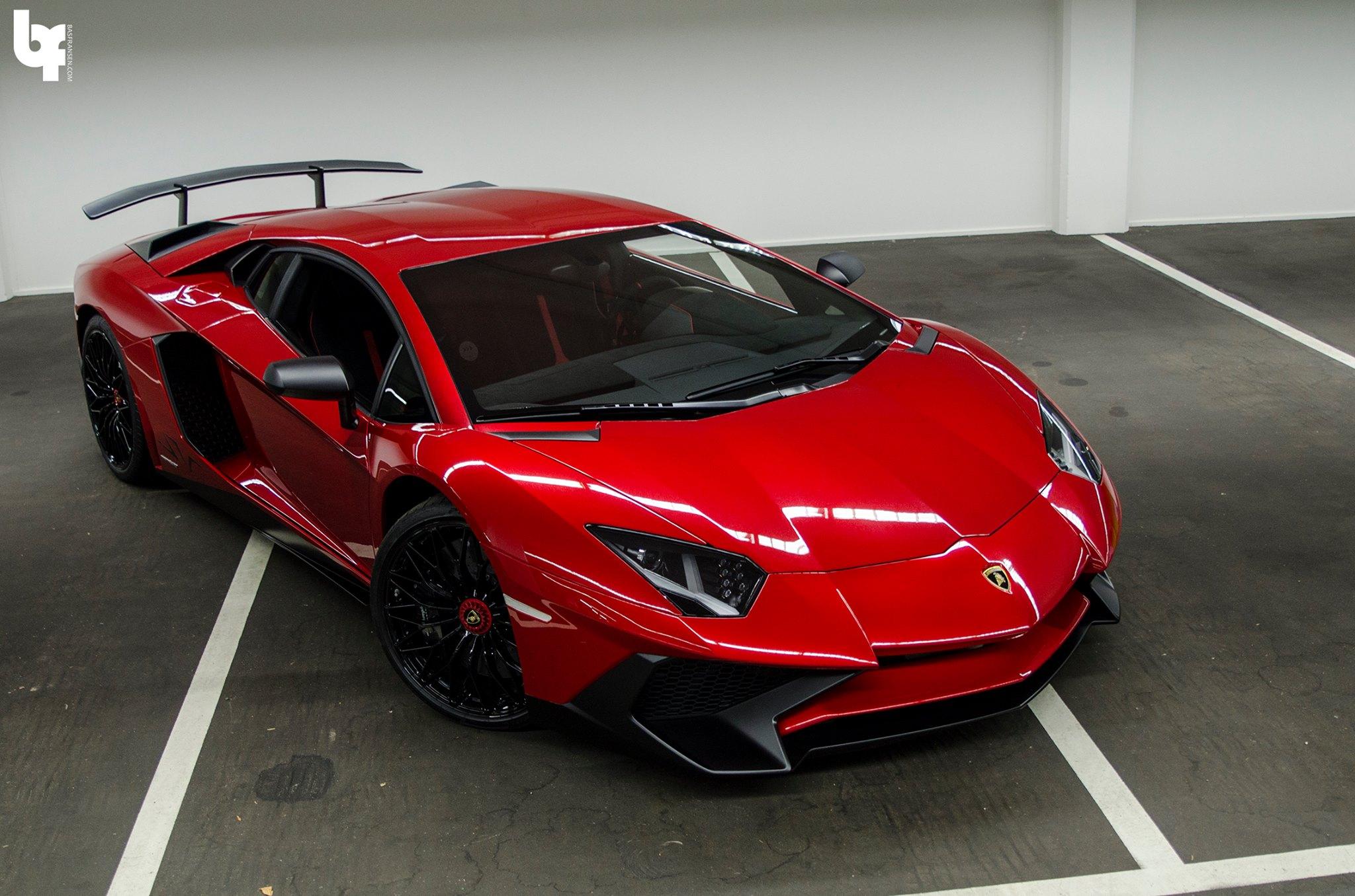 Rosso-Bia-Lamborghini-Aventador-SV-4 Nuevo superdeportivo de Afrojack