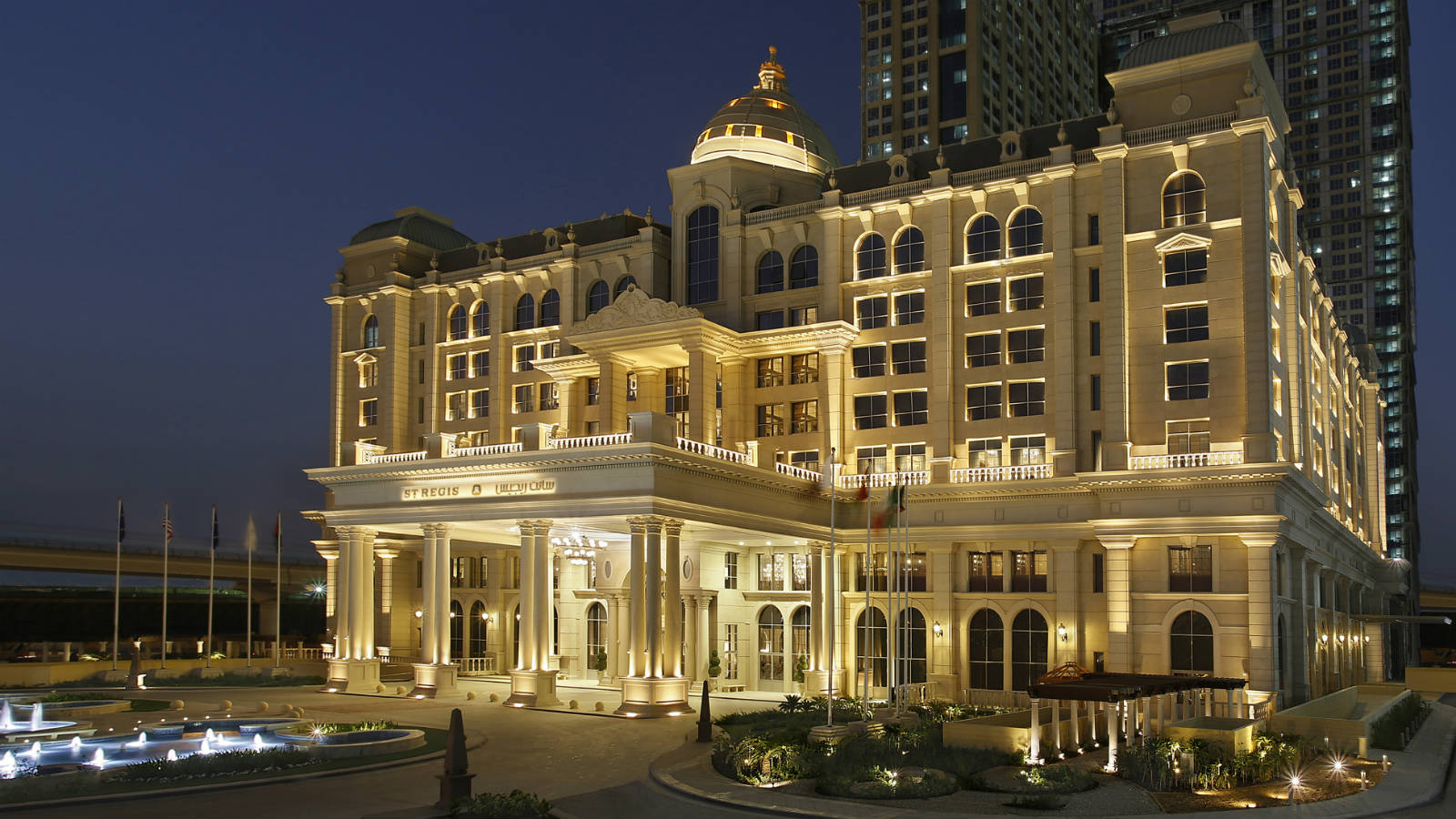 recently opened st regis hotel and resort in dubai