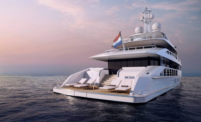 Superyacht Nova by Heesen Yachts