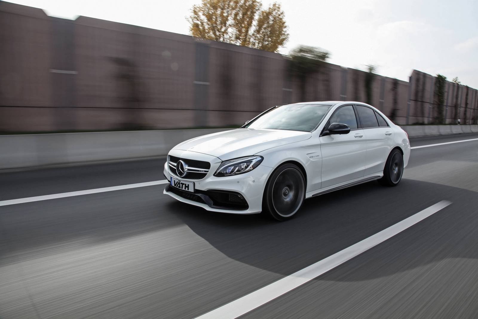 Official: 609hp Mercedes-AMG C63 by Vath