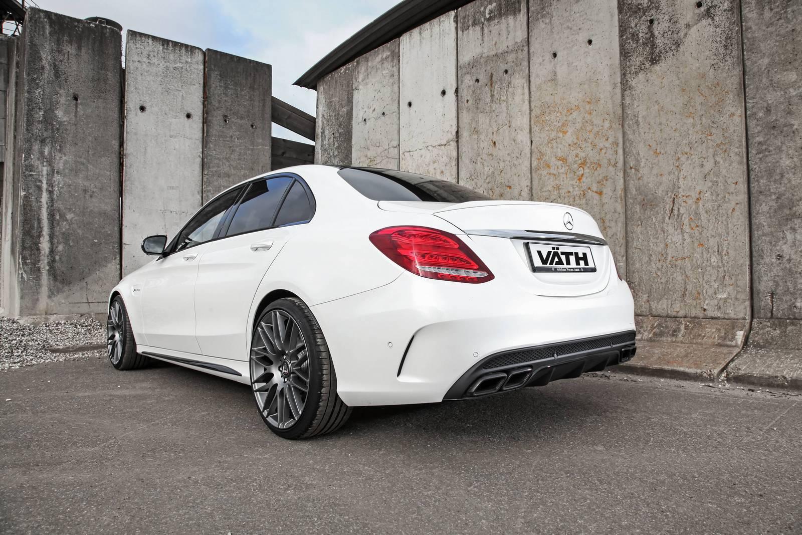 Official: 609hp Mercedes-AMG C63 by Vath - GTspirit
