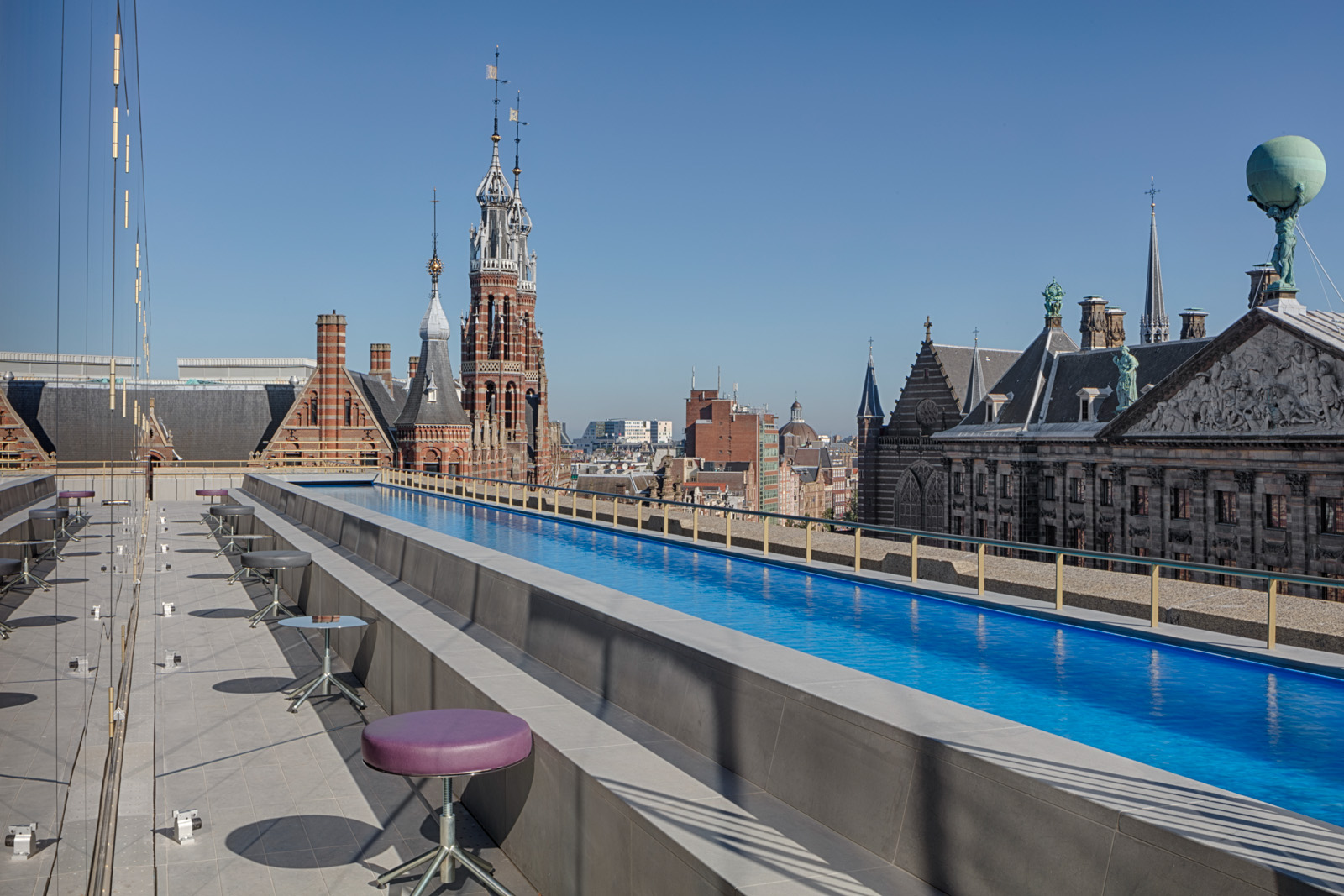 First w hotel in the netherlands opened in amsterdam for Amsterdam hotels