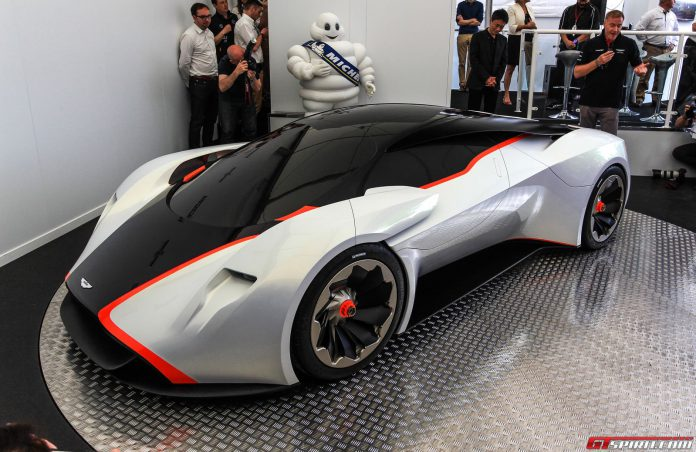 Aston Martin DP-100 Vision GT Goodwood 2014
