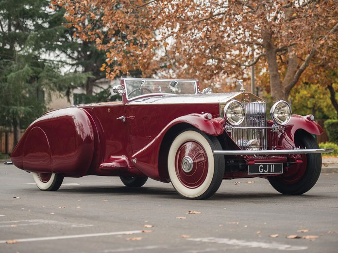 1930 Rolls-Royce Phantom II Torpedo Sports by Barker