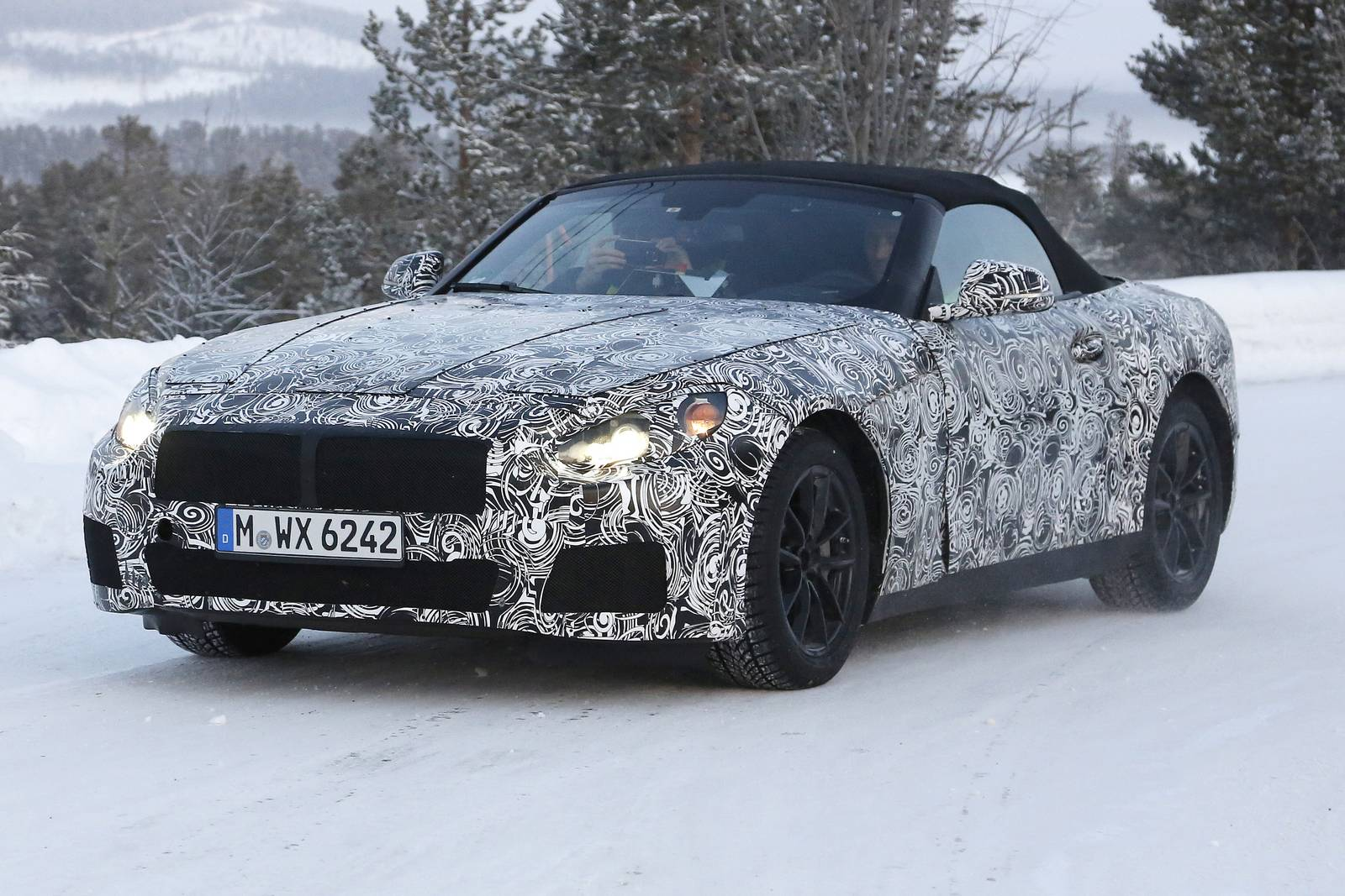 2017 Bmw Z5 Roadster First Spy Shots Gtspirit
