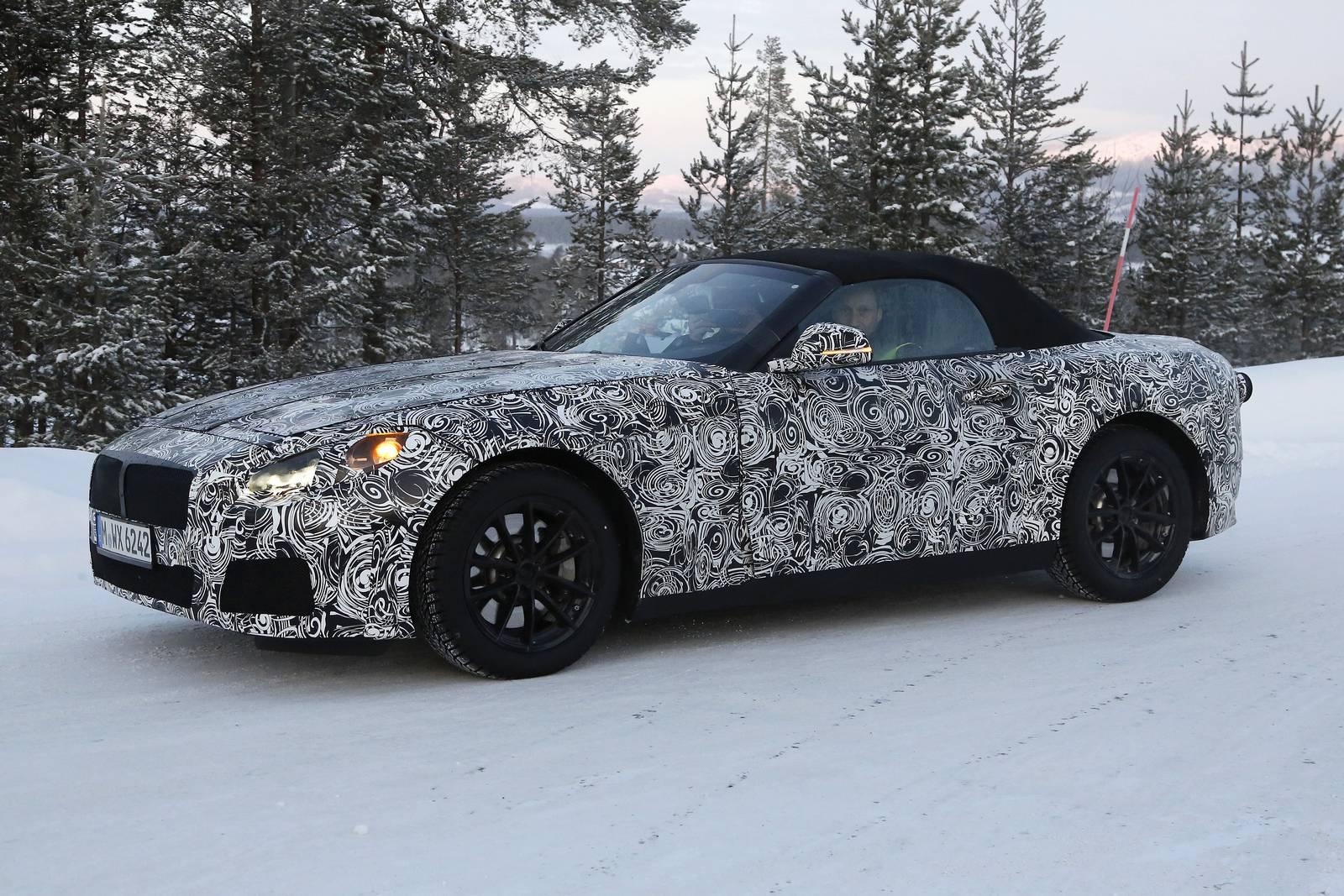 2017 Bmw Z5 Roadster First Spy Shots Gtspirit