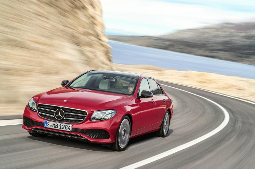 2017 Mercedes-Benz E-Class red