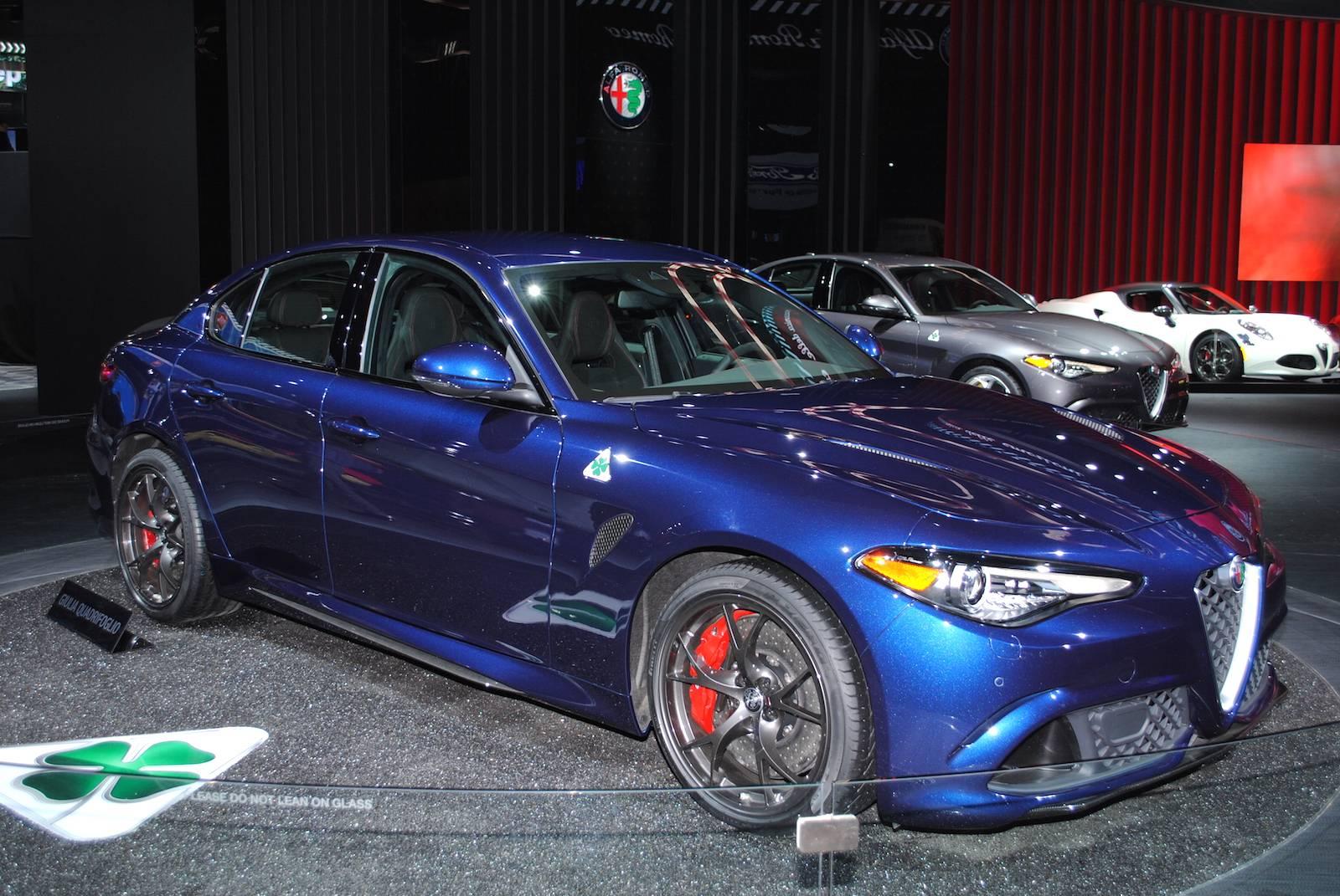 Alfa Giulia Qv >> Detroit 2016 Alfa Romeo Giulia Qv Gtspirit
