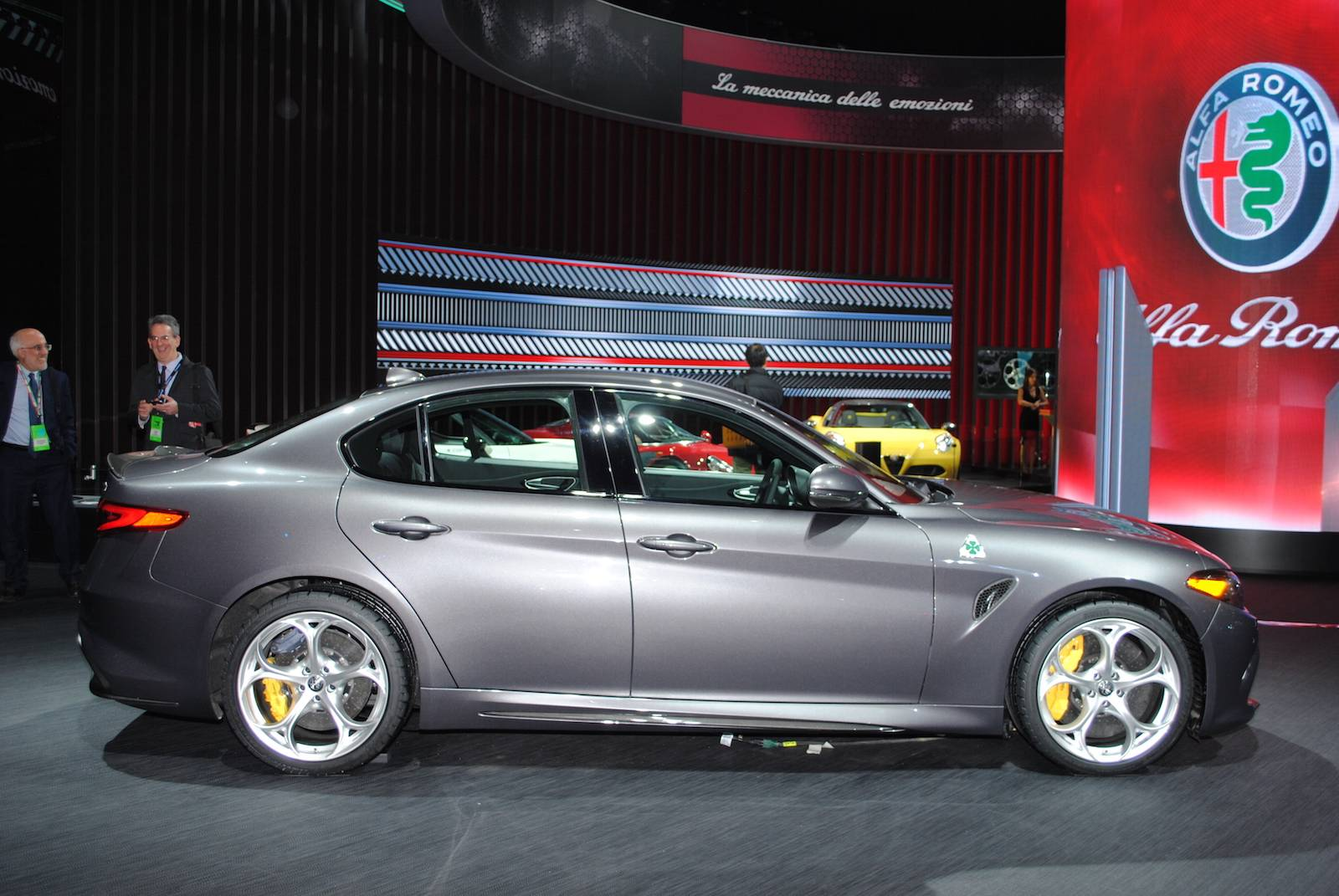 Detroit 2016: Alfa Romeo Giulia QV - GTspirit