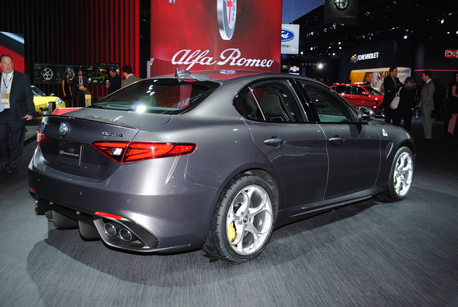 detroit 2016 alfa romeo giulia qv gtspirit. Black Bedroom Furniture Sets. Home Design Ideas