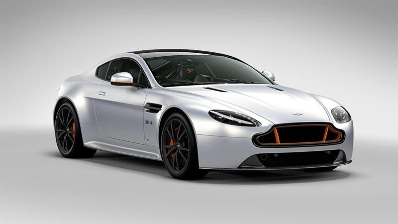 Modified Aston Martin V Vantage V Vantage S