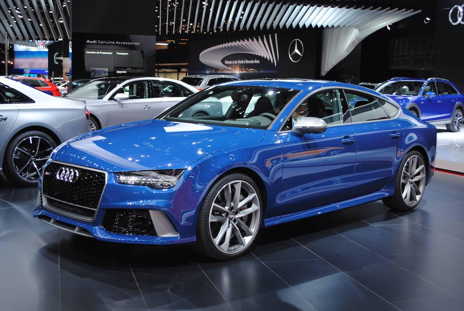 Detroit 2016 Audi Rs7 Performance