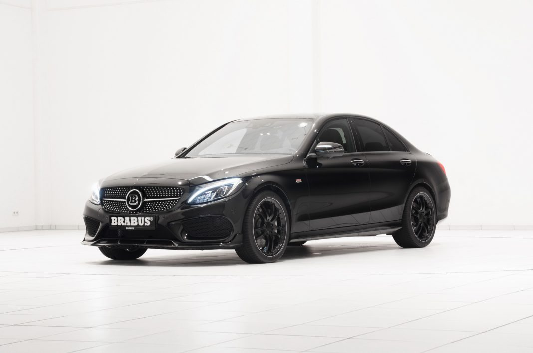 Official brabus mercedes benz c 450 amg sport gtspirit for Mercedes benz 450