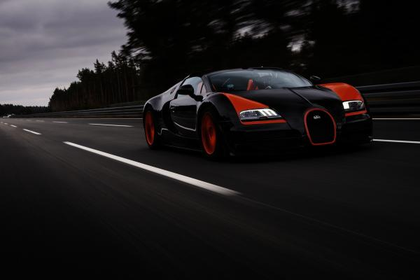 1 of 8 Bugatti Veyron Grand Sport Vitesse WRE For Sale in the UK