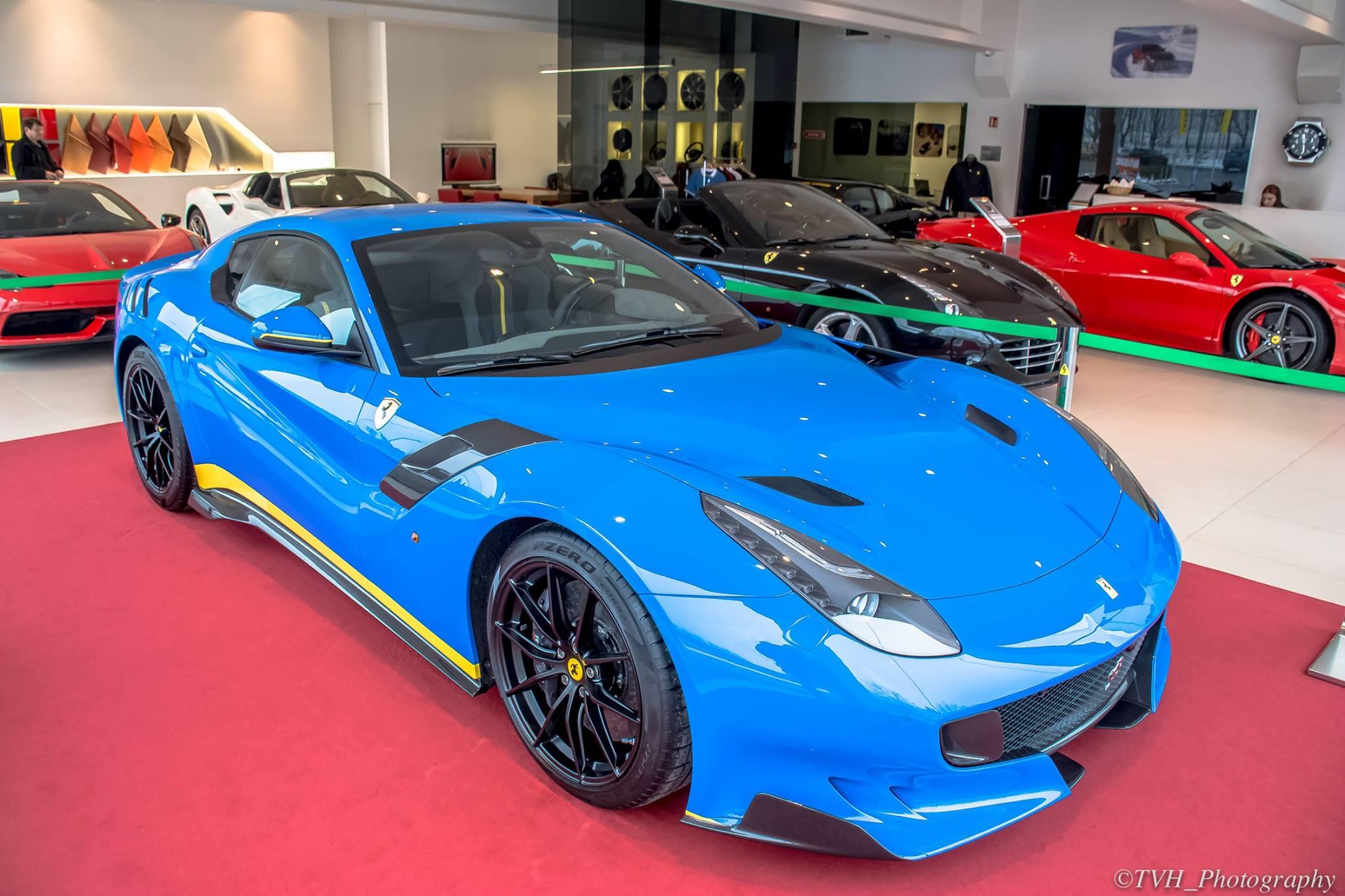 World S First Azzuro Dino Ferrari F12tdf Gtspirit