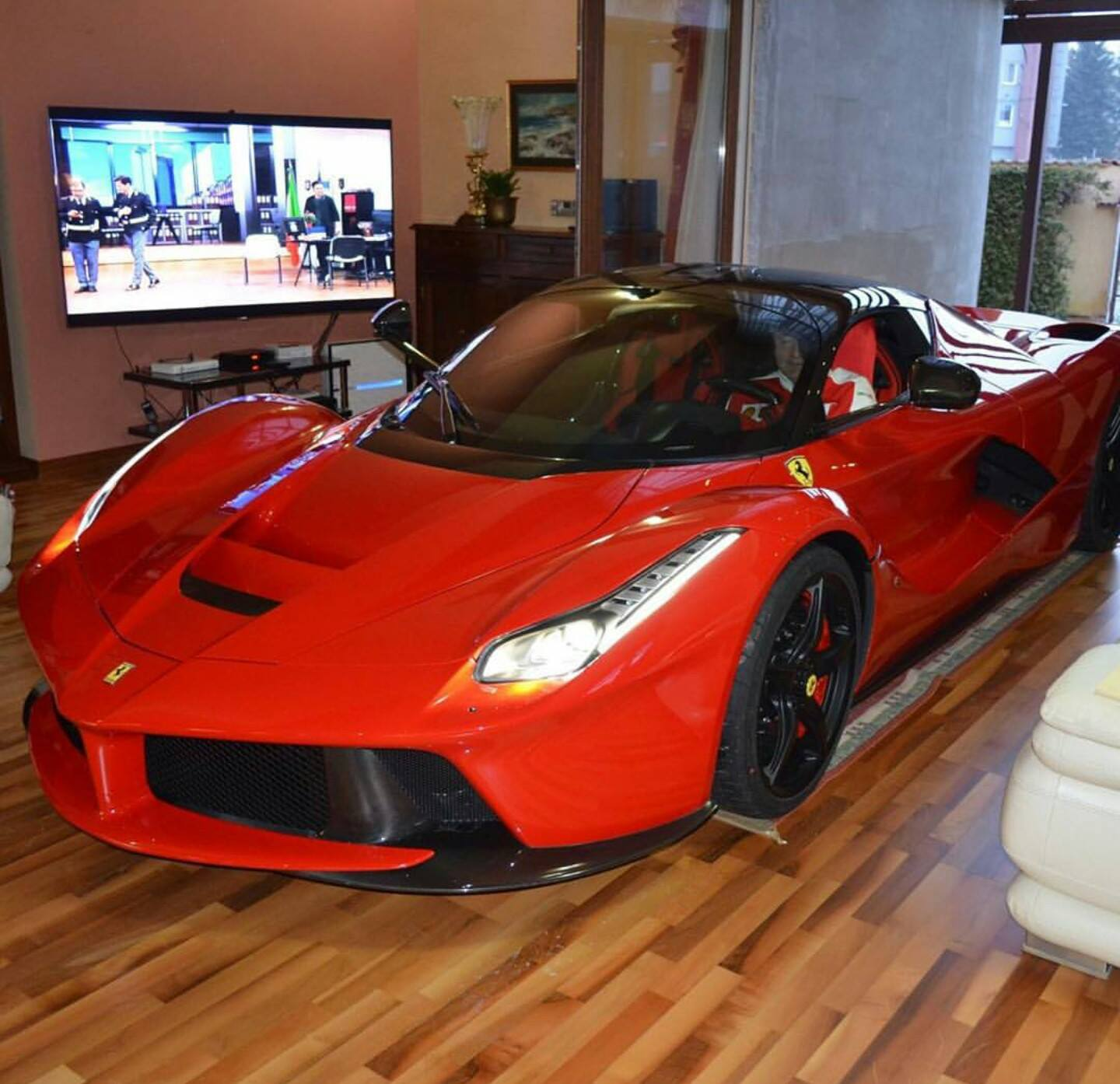 Epic Ferrari LaFerrari Living Room in Slovakia