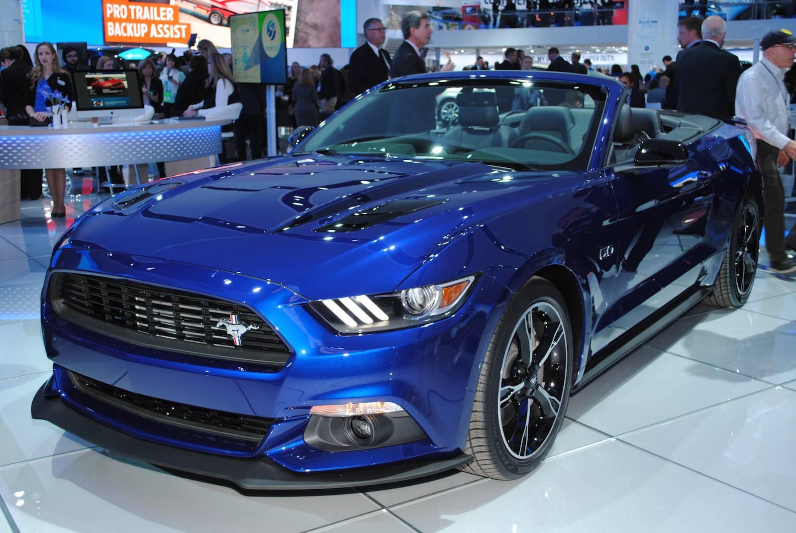 Detroit 2016: Ford Mustang GT California Special - GTspirit