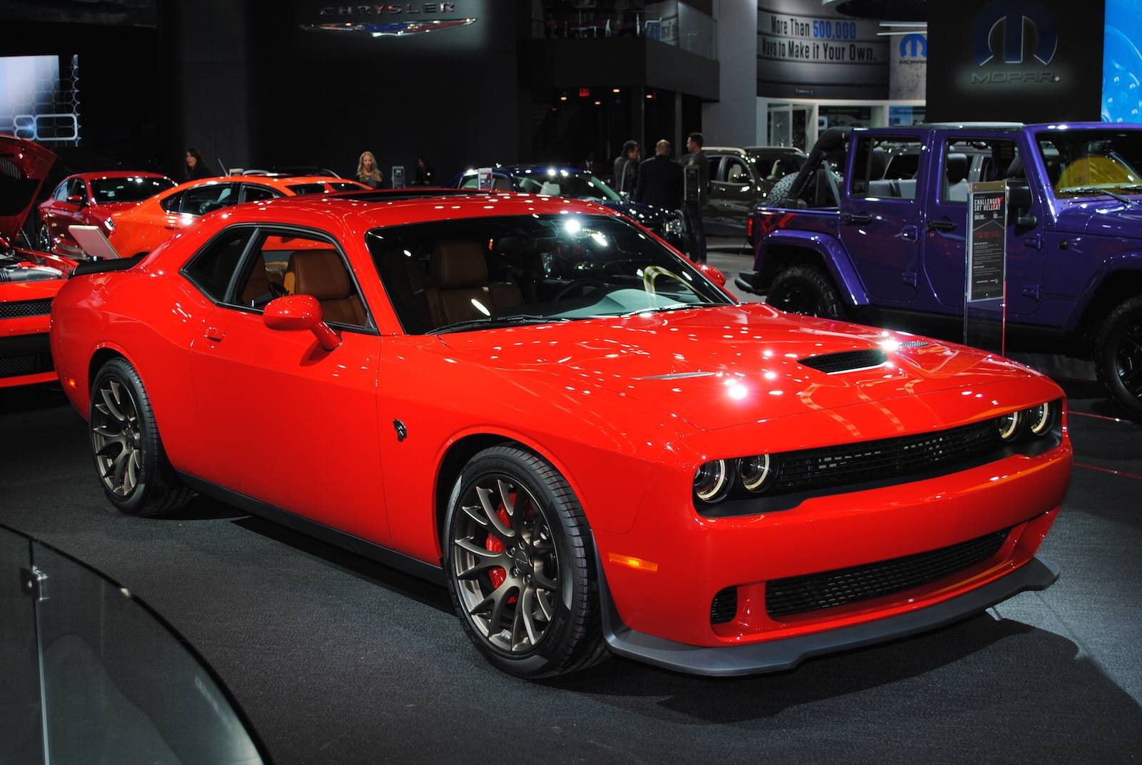 detroit 2016 dodge challenger srt hellcat gtspirit. Black Bedroom Furniture Sets. Home Design Ideas