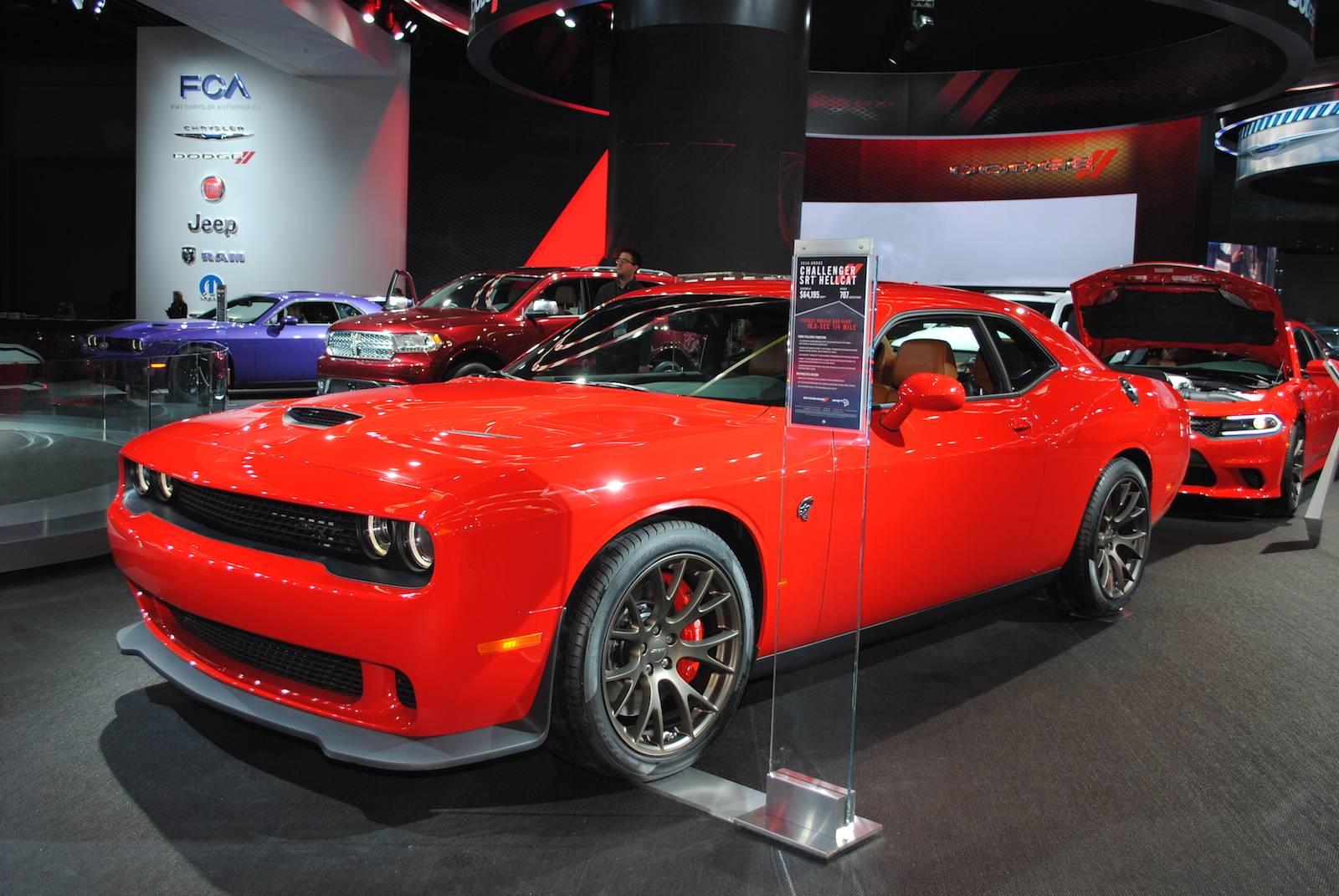 2016 Dodge Barracuda >> Detroit 2016 Dodge Challenger Srt Hellcat Gtspirit