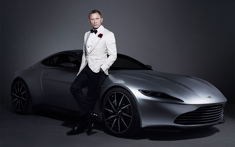 James Bond's Aston Martin DB10 to be Auctioned in February