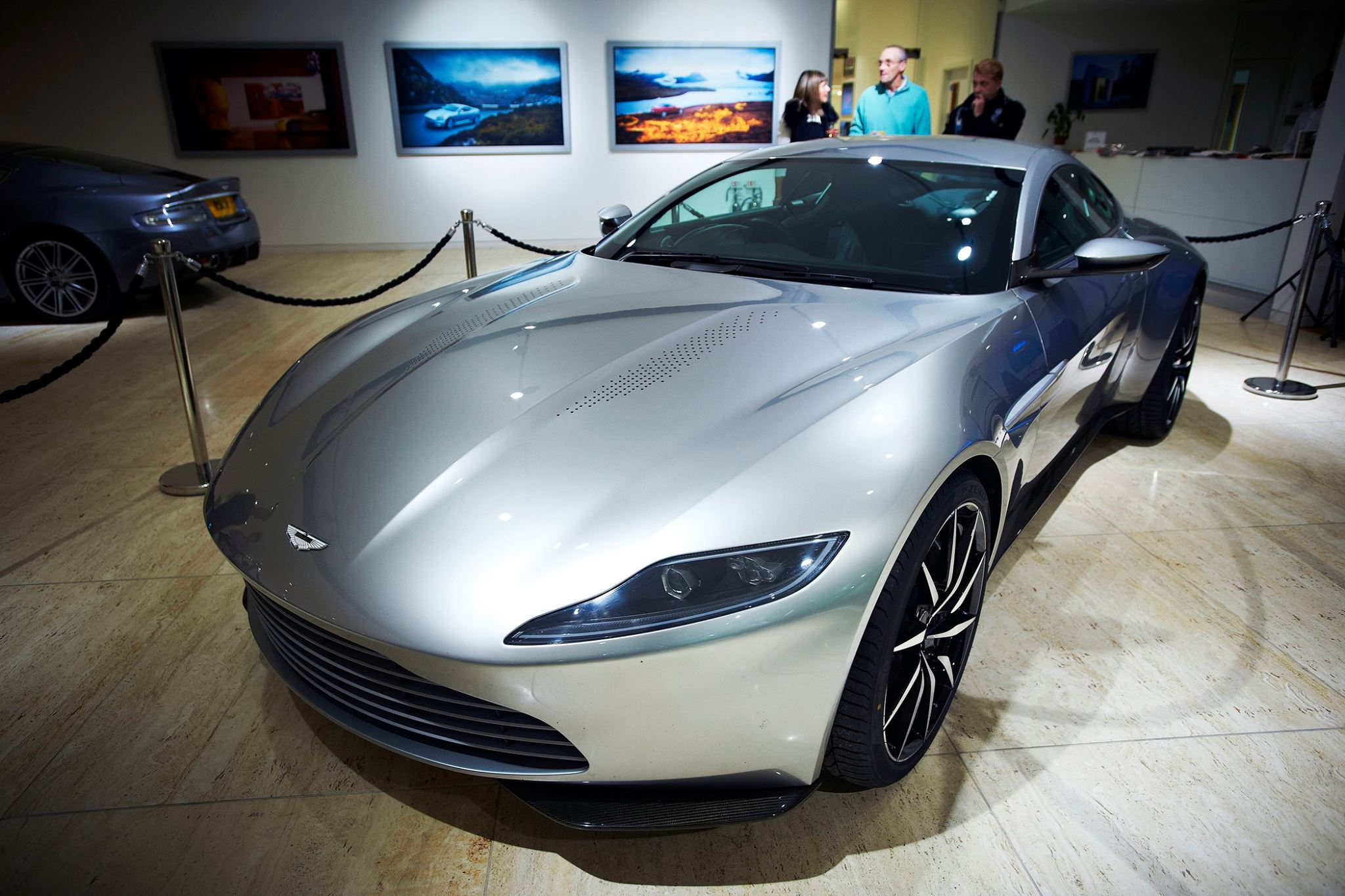 james bond 39 s aston martin db10 to be auctioned in february gtspirit. Black Bedroom Furniture Sets. Home Design Ideas