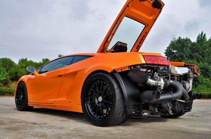 Gidi's new UGR Twin Turbo Lamborghini Gallardo