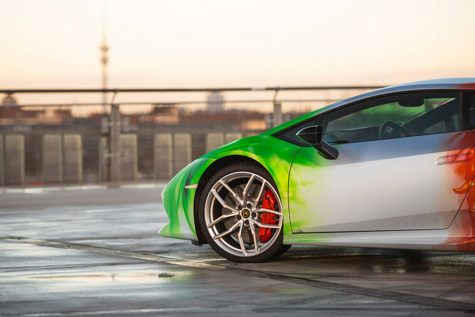 Porsche Gt3 Rs Price >> Lamborghini Huracan Wrapped in Tricolor Flames by Print ...