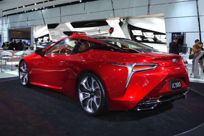 lexus engine layout with Detroit 2016 Lexus Lc 500 on 2016 Mclaren 570s Coupe furthermore 1093863 polaris Slingshot Is A 173 Hp 20k 3 Wheeled Motorcycle A Car together with Toyota Century also Detroit 2016 Lexus Lc 500 in addition Audi R5 Mid Engined Sports Car Approved Here In 2014.