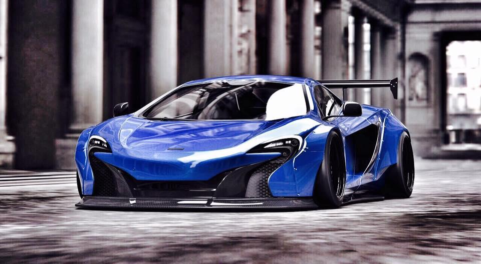 Mc Lawrence Car >> Liberty Walk Previews Widebody McLaren 650S - GTspirit